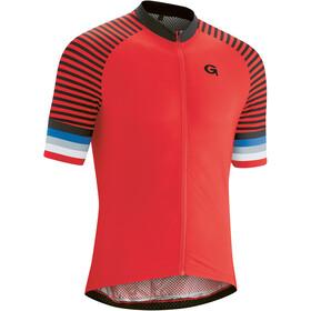Gonso Palai Full-Zip SS Bike Jersey Men, high risk red